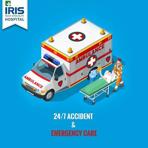 IRIS Hospital has a round-the-clock full service accident and emergency care facility backed by the best of doctors and healthcare professionals. In moment of an emergency, call us at 8336 900 450 without hesitation