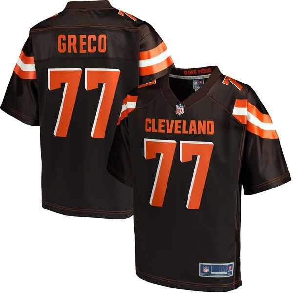John Greco Cleveland Browns NFL Pro Line Youth Player Jersey - Brown - $74.99