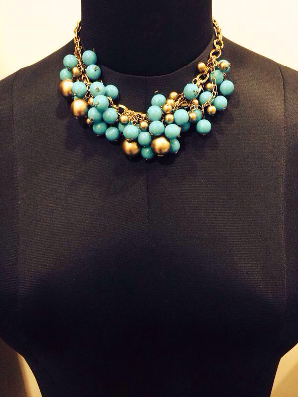 Unnati Jewels blue necklace
