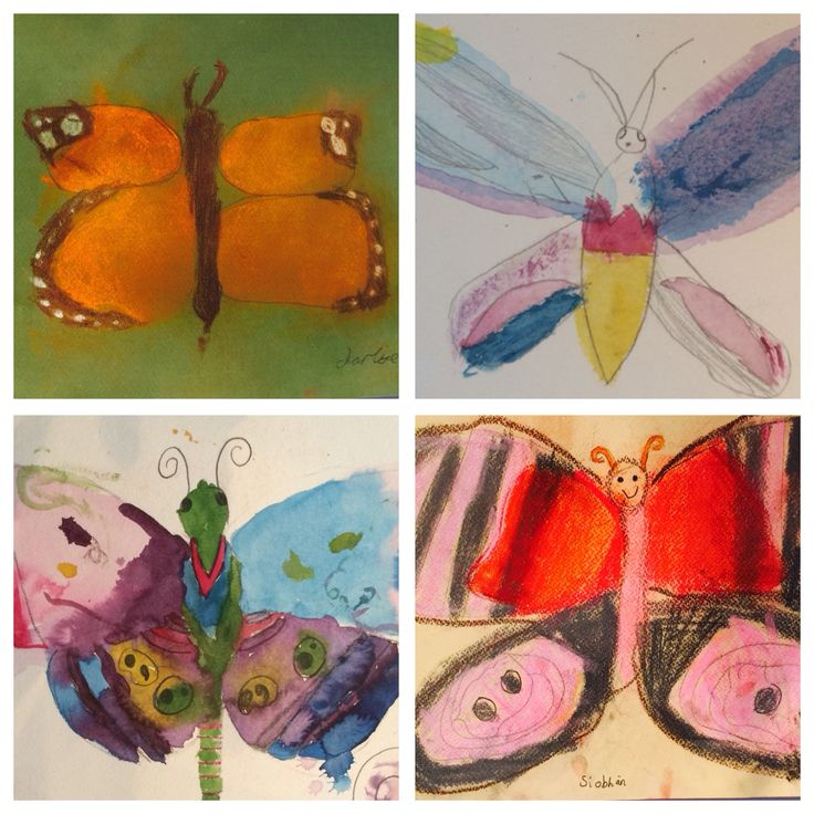 #drawing & #painting class for 6-9 yr olds #pastels & #inks