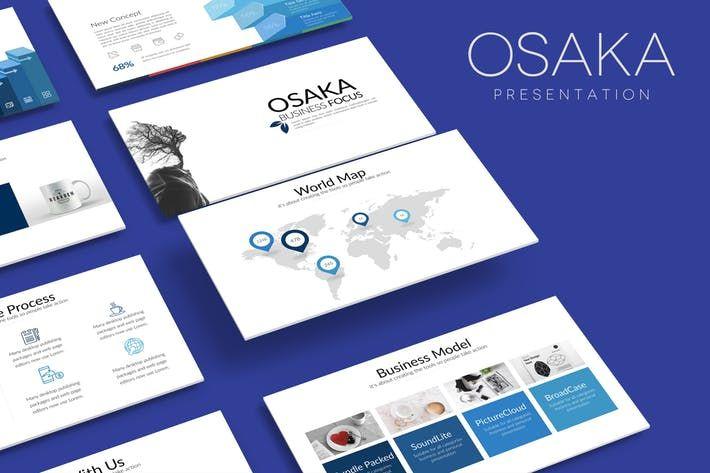 Osaka Google Slides By Artmonk On Presentation Templates Powerpoint Presentation Templates Presentation
