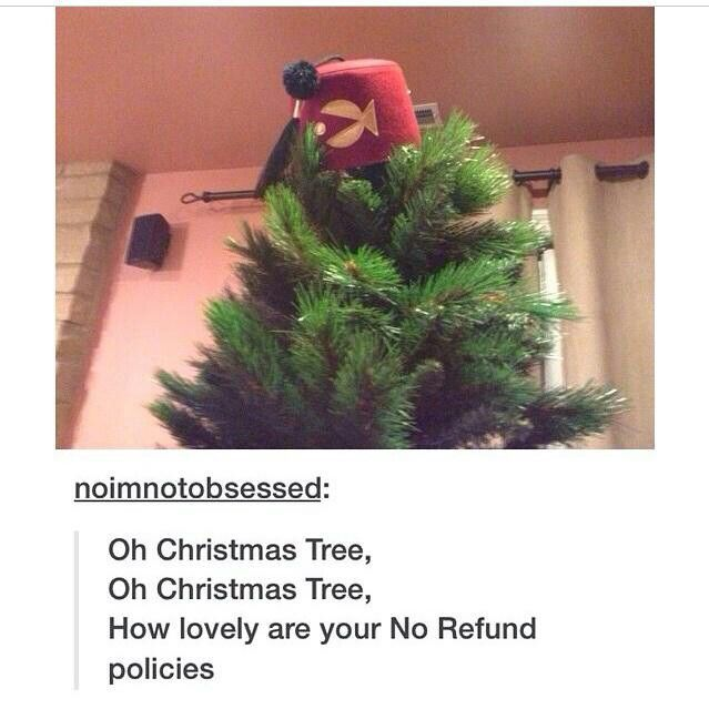 We need new episodes, and SOON.>>Christmas tree? More like Pine tree <<< WANT THIS SO BADLY