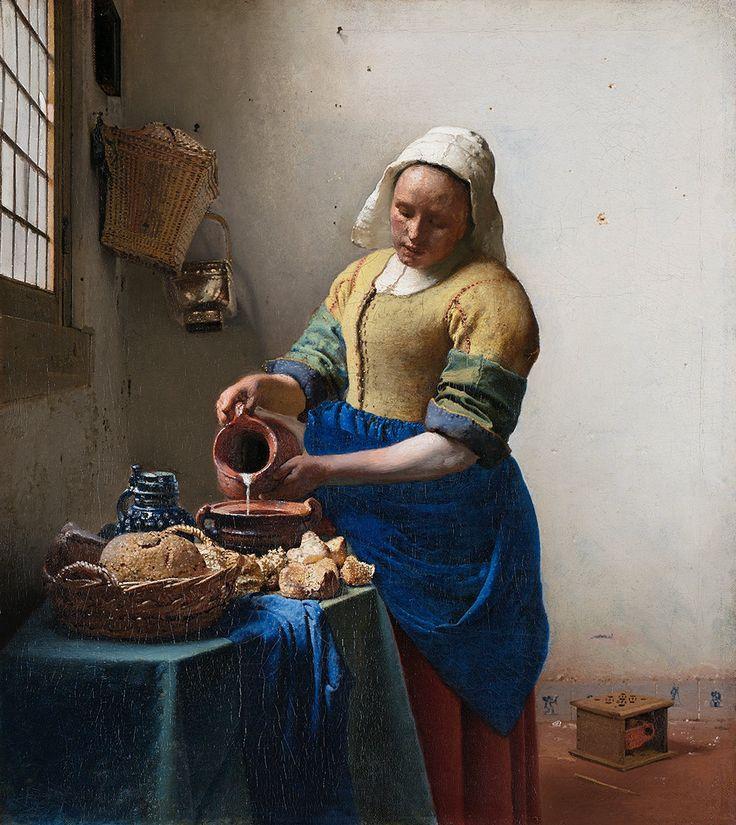 Vermeer, Mleczarka