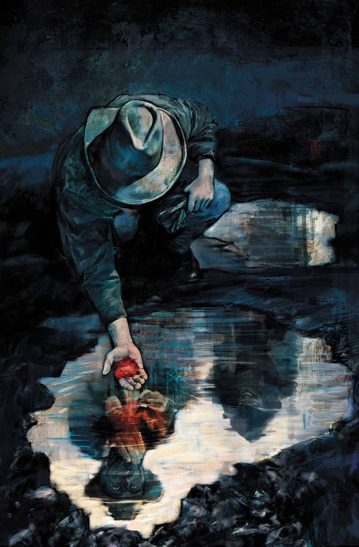 DARK TOWER: THE GUNSLINGER – THE MAN IN BLACK #3 Cover by ALEX MALEEV