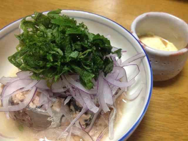 水煮鯖缶のシンプル美味しい食べ方♡の画像