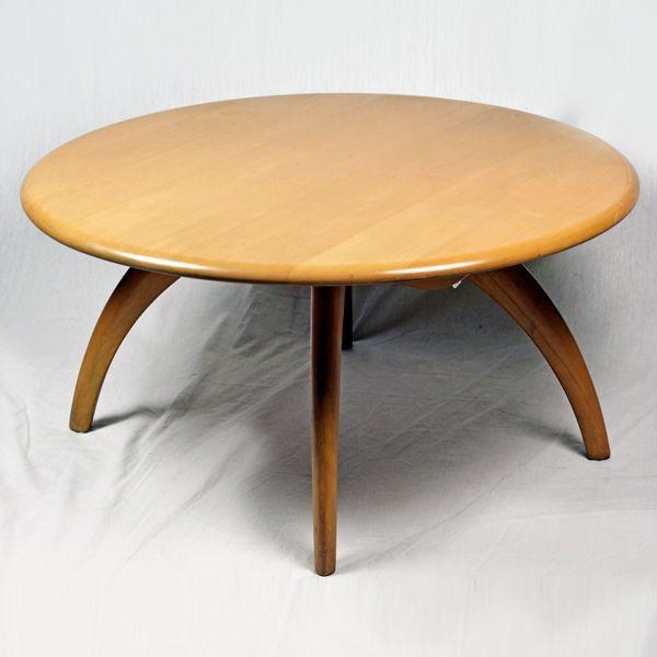 Heywood Wakefield Lazy Susan Coffee Table