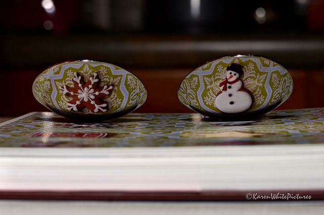 spoons reflecting christmas cookies 5/52 | Flickr - Photo Sharing!