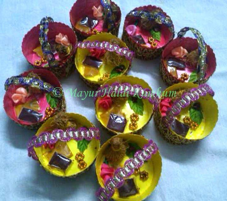 Mayur Arts & Crafts   : Haldi Kumkum plates