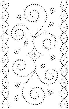 tin punch patterns printable - Google Search