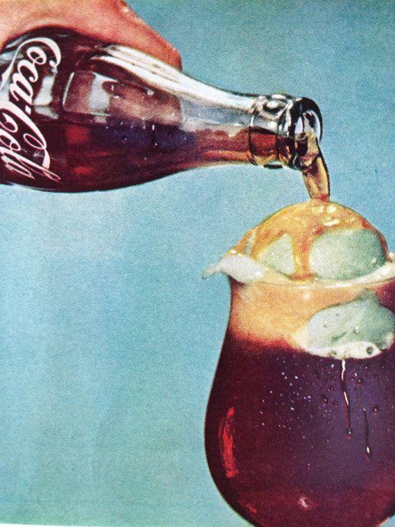 Vintage 1961 CocaCola Ad Paper Ephemera taken by TheVintageEmpress, $6.00