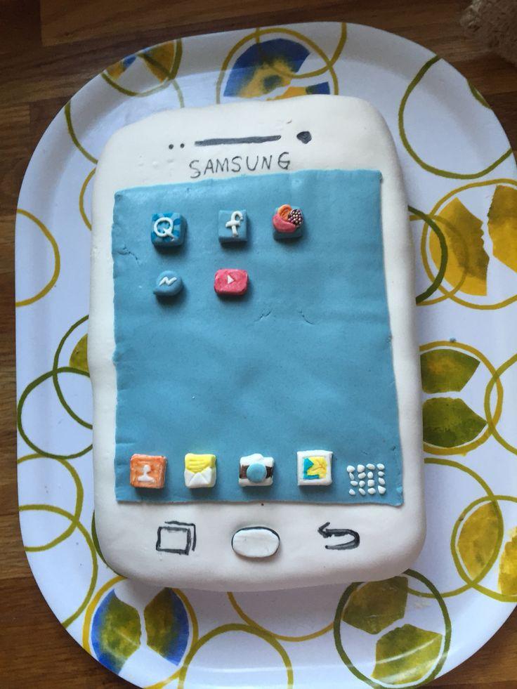 Samsung cake