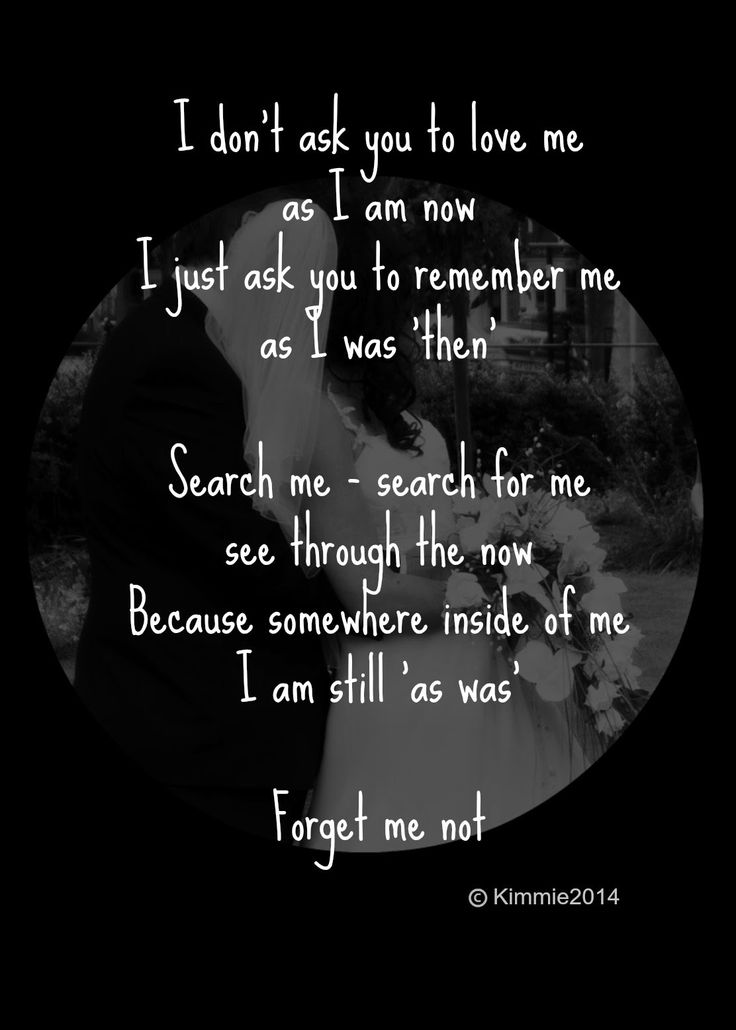 Stuck In Scared: 'Forget Me Not' #poem #micropoetry #poetry