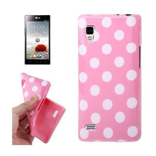 Polkaprikket (Light Pink) LG Optimus L9 Cover