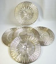 Vintage Charger Plates Set of 5 Woven Silver Tone Wire Paper Plate Holder & 8 best Settin the Table all Fancy images on Pinterest | Place ...