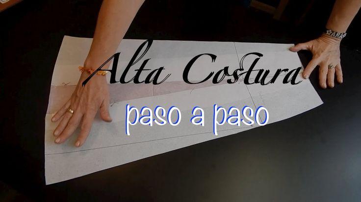 Alta Costura Clase 47A, Falda Vuelo Natural Delantero - YouTube