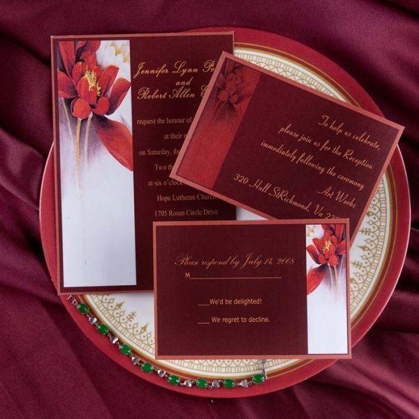 39 Best Pink Wedding Invitations Images On Pinterest