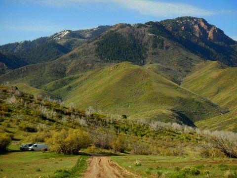Nephi, Utah Campsite in Uinta NF