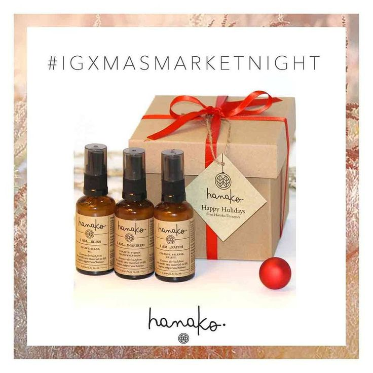 #IGXMASMARKETNIGHT: DEAL TWO 🌲  Don't want to buy 10 Natural Perfumes in bulk but have your heart set out on a select few? Mix n Match in our HOLIDAY GIFT SHOP ~ now open!  Each I AM... bottle heals with the vibrational energy of crystals, pure essential oils, gem & flower essences and mantras 🌸 // http://www.hanakotherapies.com/