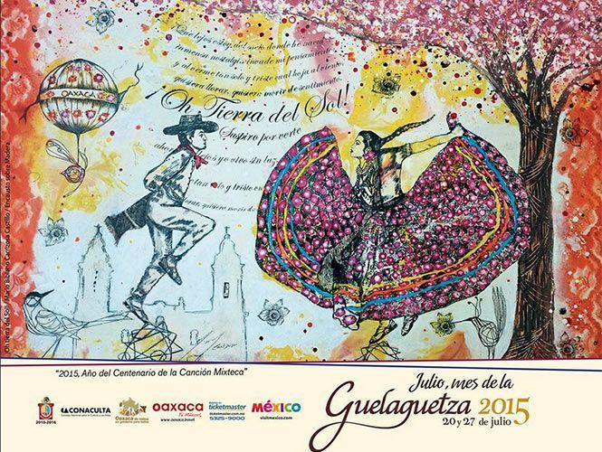 Pintura ¡Oh Tierra del Sol! será la imagen oficial de la Guelaguetza 2015