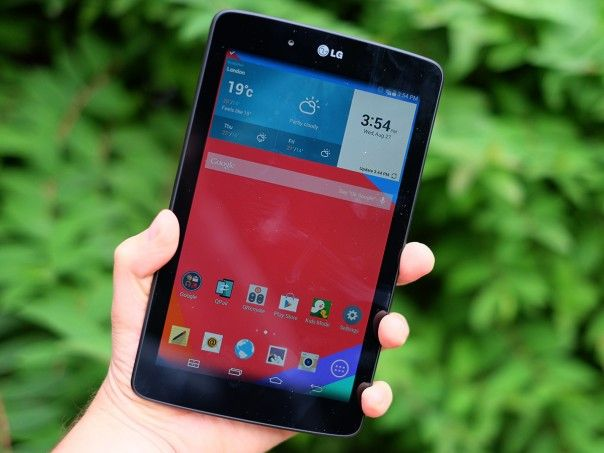 how to call from lg g pad