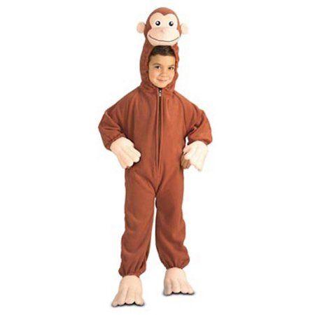 Curious George Toddler Halloween Costume, Kids Unisex, Multicolor