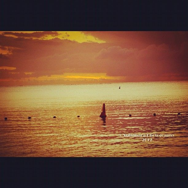 #Sunset #Mauritian #scenery for sale. Photo from the #Instacanvas #gallery of #sultanara.