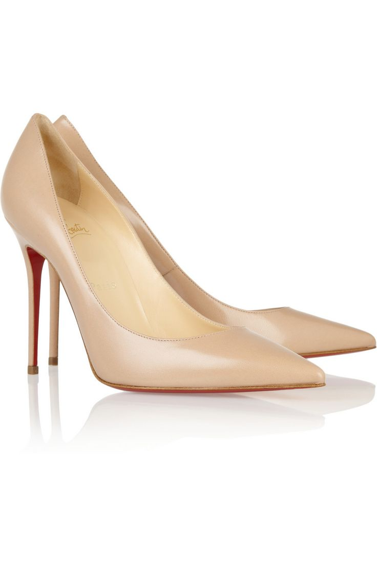 Christian Louboutin Decollete 100 leather pumps [CL2013] - $197.60 :  Discounted Christian Louboutin,