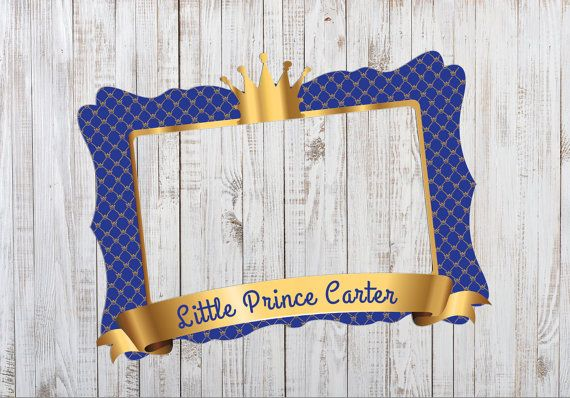 Little Prince Photo Booth Props DIGITAL FILE Birthday by IRMdesgn