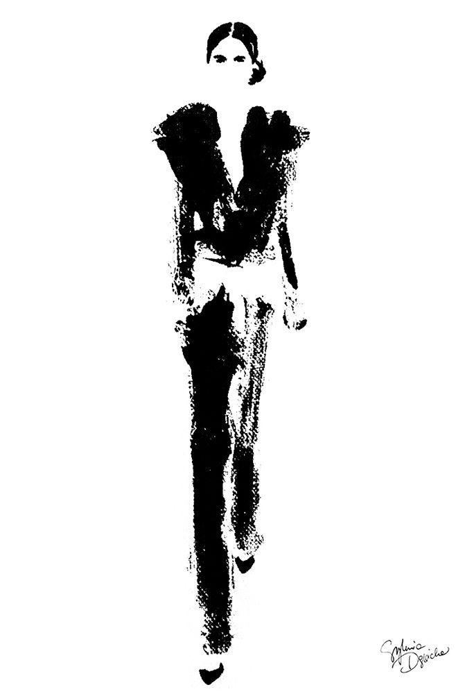 Women of Paris on Behance  #fashionillustration #illustration #artist #art #contemporaryart #hautecouture #vogue #minimalism #paris #girlpower