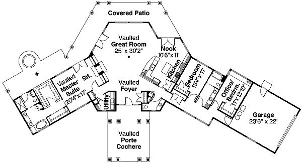 17 best ideas about porte cochere on pinterest southern for Floor plans with porte cochere