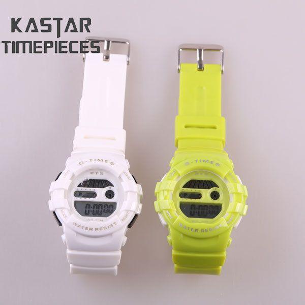 2014 women plastic strap watch digital