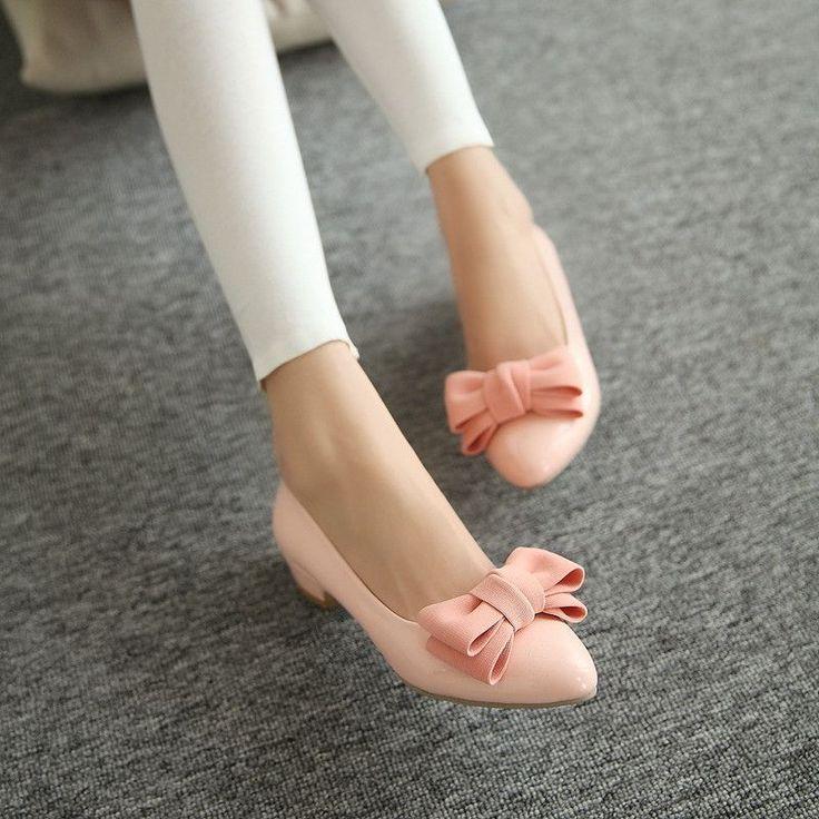 Heels: approx 3.5 cm Platform: approx - cm Color: Beige, Black, Pink Size: US 3, 4, 5, 6, 7, 8 (All Measurement In Cm And Please Note 1cm=0.39inch) Note:Use Size Us 5 As Measurement Standard, Error:0.