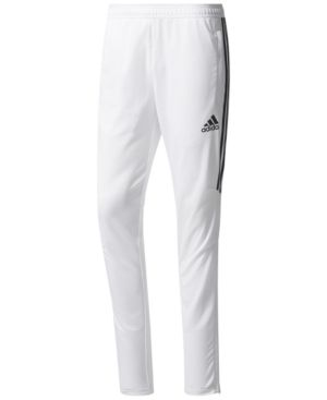 adidas Men's ClimaCool Tiro 17 Soccer Pants WhiteBlack