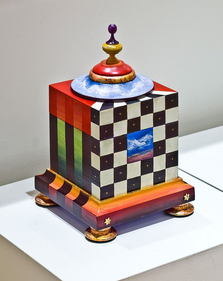 cute painted box