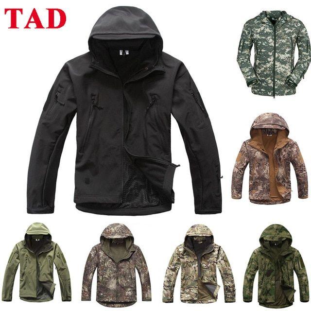 Military Tactical S TAD Sharkskin Jacket Or Pants Men Outdoor Hunting  Clothes Hiking Climbing Waterproof Sp… | Mens hiking jacket, Hunting  clothes, Sport jacket men