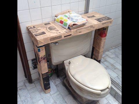 Mueble hecho con cajas de leche o tetrapack, FACIL - YouTube