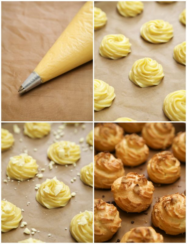 masam manis: JAPANESE CRISPY CREAM PUFF- i have to try this!