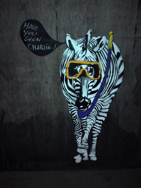 Have you seen Charlie? Street art by TWAT, Clerkenwell, London by Craig Grobler, via Flickr