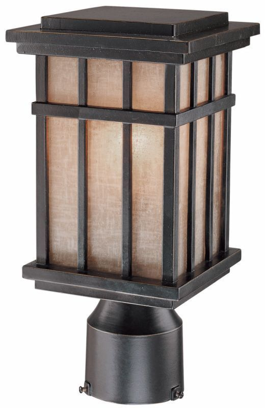 Dolan Designs 9141 Craftsman / Mission 1 Light Post Light from the Freeport Coll Winchester Outdoor Lighting Post Lights Post Lights