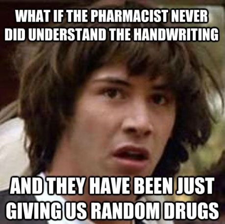 Conspiracy Keanu meme. What if Keanu Reeves created this meme to become famous again?