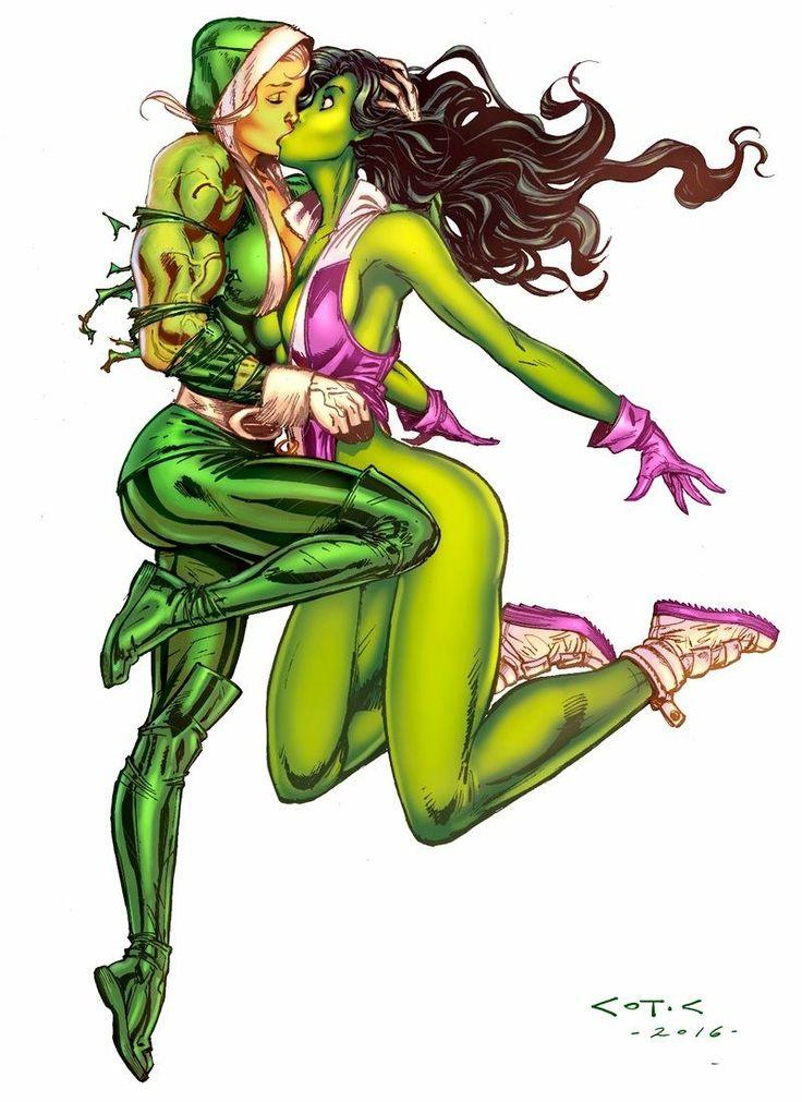 Transexuals fucking she hulk hot yuri black girl