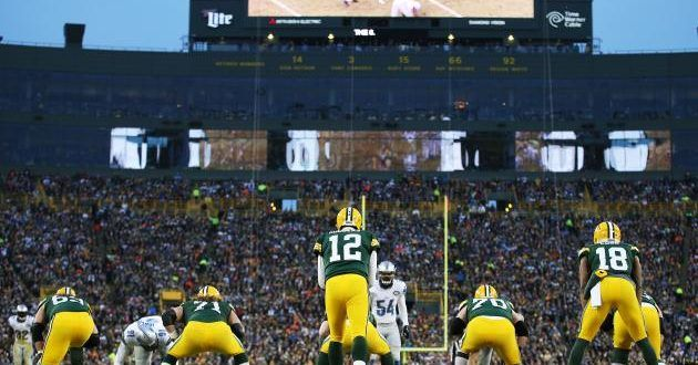 Detroit Lions vs Green Bay Packers Live TV coverage