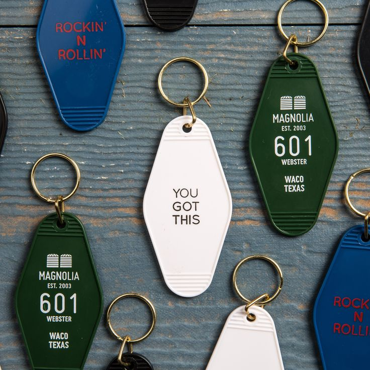 Key Tag | Magnolia Market | Chip & Joanna Gaines | Waco, TX | Father's Day |