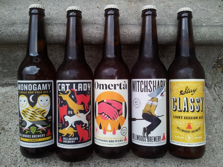 Bellwoods Brewery Labels  Google Search  Packaging