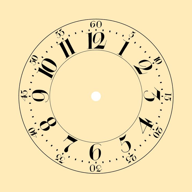 Grandfather Clock Template Printable – Jerusalem House