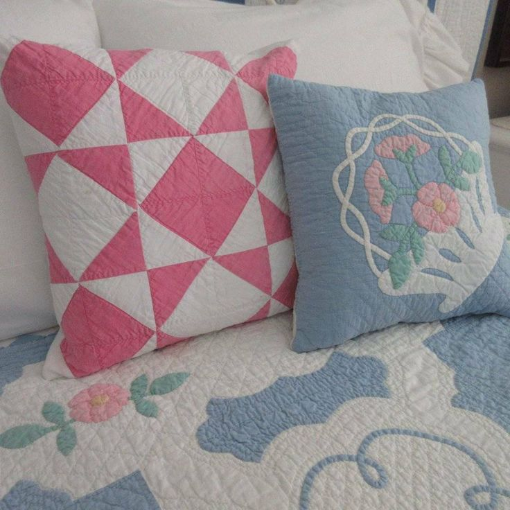 Sweetest Patchwork Pink & White Cottage Perfect! V…