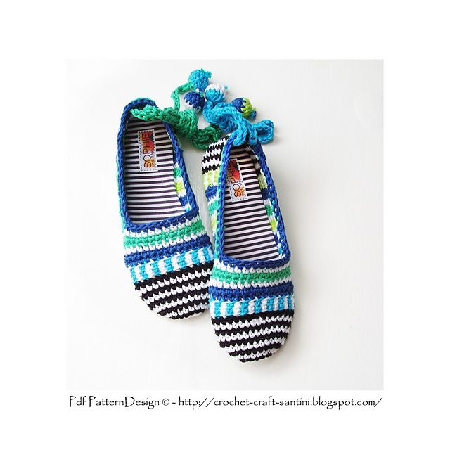 Ravelry: KIDS Happy Scrap Shoes - The Basic Slipper-Pattern - 18 months - 10 years.