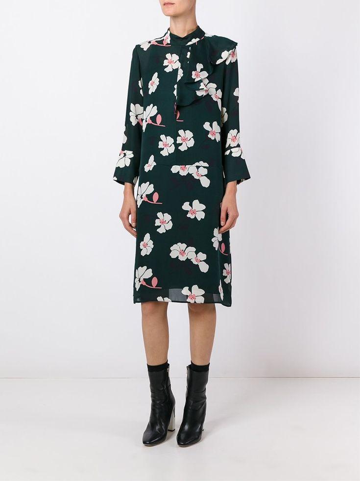 Marni платье с цветочным принтом