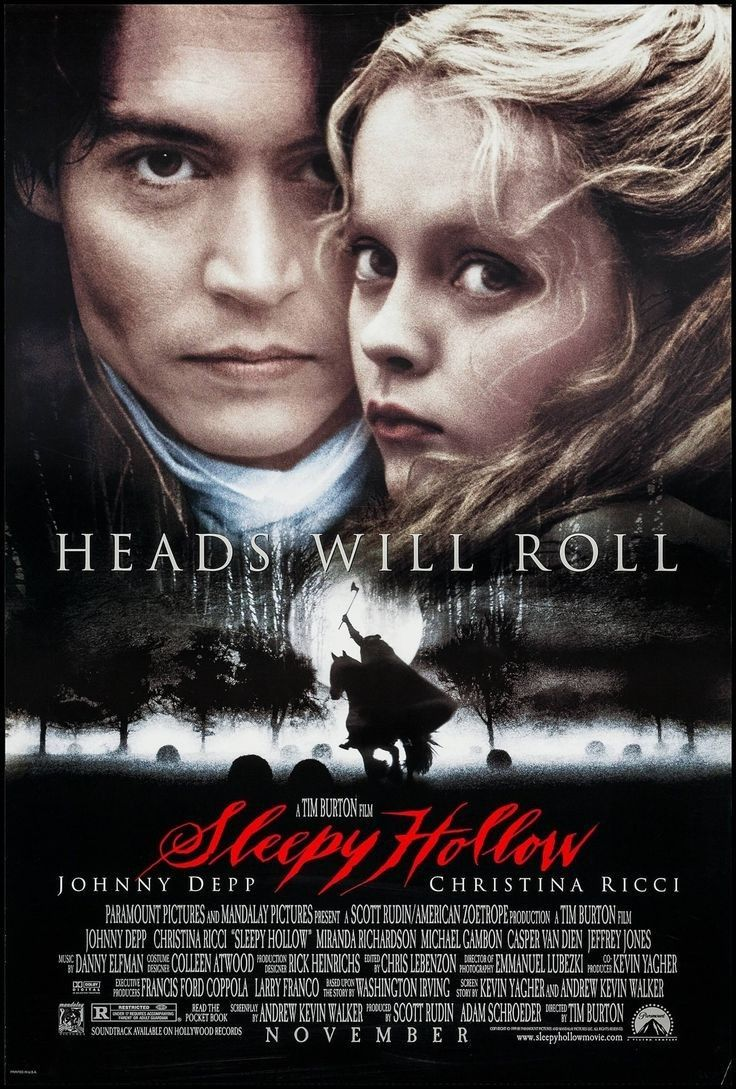 Sleepy Hollow 1999 Tim Burton Sleepy Hollow Movie Sleepy Hollow Christina Ricci