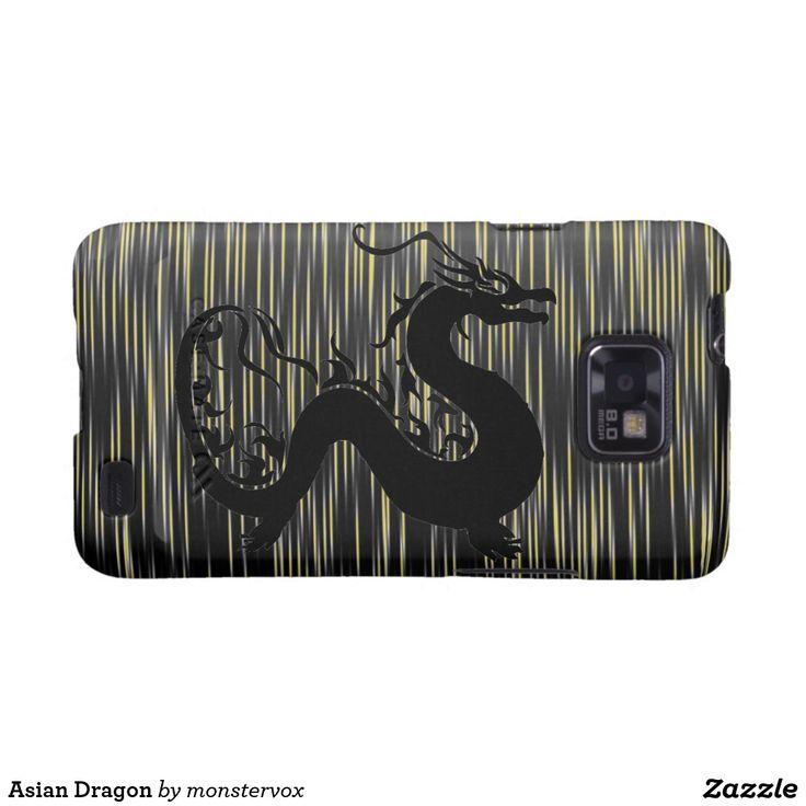 Asian Dragon Galaxy S2 Cover #Dragon #Creature #Fantasy #Asia #Asian #Mobile #Phone #Cell #Case #Cover #Samsung #Galaxy #Cover